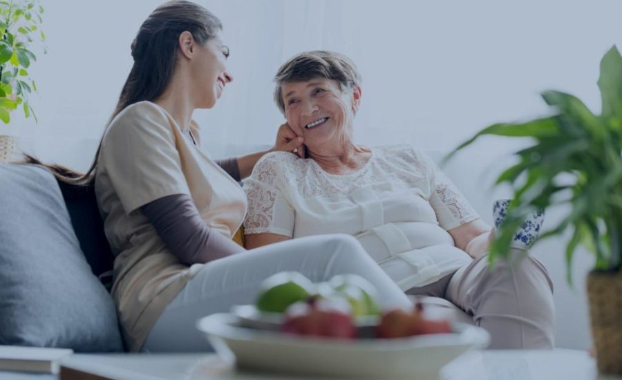 Care With Confidence Caregiver Helping Client